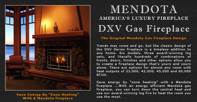Incredible Mendota Dxv Gas Fireplaces Adams Stove Company Wood Stoves Home Interior And Landscaping Ologienasavecom