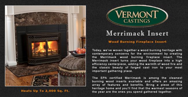 Vermont Castings Merrimack Wood Fireplace Insert Adams