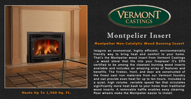 Vermont Castings Montpelier Wood Fireplace Insert Adams Stove Company, Wood  Stoves In Western Mass, Pellet Stoves In Massachusetts, Wood Stoves &  Pellet ... - Vermont Castings Montpelier Wood Fireplace Insert Adams Stove
