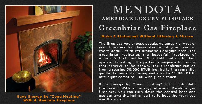 Admirable Mendota Greenbriar Gas Fireplaces Adams Stove Company Wood Download Free Architecture Designs Momecebritishbridgeorg
